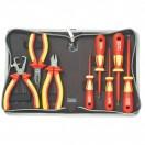 Набор инструментов с высоковольтной изоляцией PK-2801 VDE 1000V