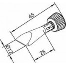 Жало ERSA102CDLF120С