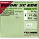 Промывочная жидкость для очистки трафаретов VIGON SC 202, концентрат, бутылка 1 литр