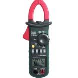 Клещи токоизмерительные MS2008B цифровые автоматические ACA (ACV/DCV, сопр., прозвон, частота, скважность, емкость, авто диапазон,темп.) Mastech