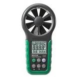 Анемометр MS6252B с цифровой крыльчаткой  (температура, влажность, порт USB) Mastech