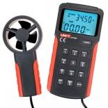 Анемометр-термометр с крыльчаткой цифровой UNI-T UT361