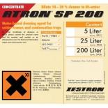 Промывочная жидкость для отмывки палет и подплатников ATRON SP 200, концентрат, канистра 5 литров, Z5931