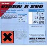 Промывочная жидкость для струйной отмывки печатных узлов VIGON A 200, бутылка 1 литр
