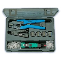 Набор инструментов для монтажа сетей на витой паре профессиональный 1PK-935