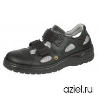 Ботинки защитные черные мужские 2590.31036