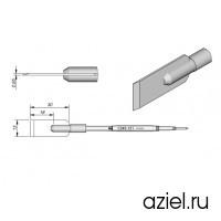 Картридж-наконечник JBC C245-121 лопатка-лезвие 13 мм