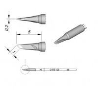 Картридж-наконечник JBC C105-120 ножевидный 1,0 х 0,2 мм