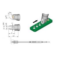 Картридж-наконечник JBC C245-651 для пайки разъемов A=3,25 мм/B=1,25 мм/С=6,0 мм/D=4,0 мм/E=3.0 мм
