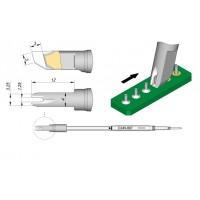 Картридж-наконечник JBC C245-667 для пайки разъемов A=3,25 мм/B=1,25 мм/С=12,0 мм/D=4,0 мм/E=3.0 мм