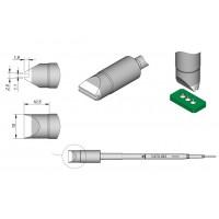 Картридж-наконечник JBC C470-043 для пайки кабеля или штырьковых выводов до Ø=1,0 мм
