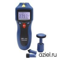 Цифровой лазерный контактно-бесконтактный фототахометр CEM АТ-8