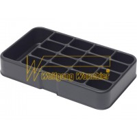 Поддон 5150.381.F17 c 16 ячейками 20 х 30 мм и 1 ячейкой 80 х 30 мм (для коробки 5150.381)