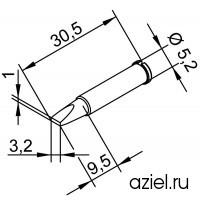 Жало ERSA102CDLF32