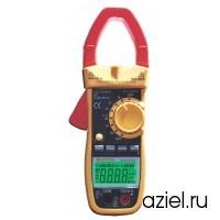Клещи токоизмерительные MS2026(N) цифровые автоматические ACA (ACV/DCV, сопр.,прозвон,частота, скважность, емкость, авто диапазон,) Mastech