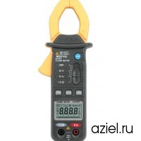 Клещи токоизмерительные MS2102 цифровые ACA&DCA(ACV/DCV, сопр.,прозвон,) Mastech