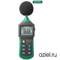 Шумометр цифровой (доп. измерение влажности,температуры) Mastech MS6702