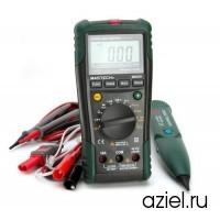 Мультиметр цифровой автоматический + кабельный тестер многофункциональный Mastech MS8236