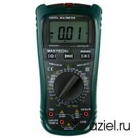 Мультиметр цифровой MS8260C с датчиком бесконтактного обнаружения AC Mastech