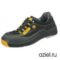 Ботинки 2590.1272 unisex черно-желтые