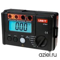 Измеритель сопротивления изоляции цифровой UNI-T UT501A