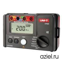 Тестер электрических цепей (измеритель заземления и сопротивления изоляции) цифровой UNI-T UT525