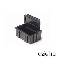 Коробка антистатическая для SMD черная 37x12x15 мм арт.5100.874