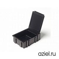 Коробка антистатическая для SMD черная 40x37x15 мм арт.5100.875