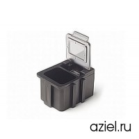 Коробка антистатическая для SMD с прозрачной крышкой 16x12x15 мм арт.5100.880