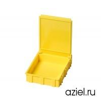 Коробка антистатическая для SMD 68x57x15 мм желтая арт. 5101.Y.876