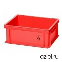 Ящик красный 5311.R.14 размер 400x300x170 мм