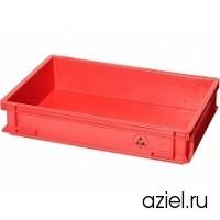 Ящик красный 5311.R.24 размер 600x400x120 мм