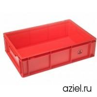 Ящик красный 5311.R.34 размер 600x400x170 мм