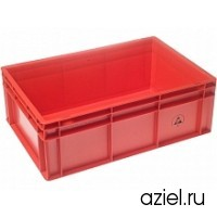 Ящик красный 5311.R.42 размер 600x400x220 мм