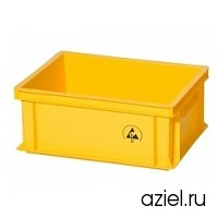 Ящик желтый 5311.Y.14 размер 400x300x170 мм