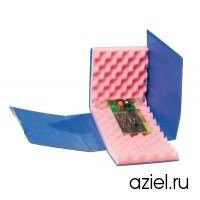 Коробка антистатическая 200x140x50 мм с поролоном 20 мм  арт.5510.907