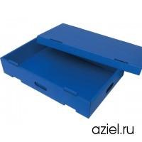 Коробка SAFESHIELD® 5510.SB.400.A картонная антистатическая, штабелируемая, размер: 400x300x115 мм
