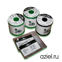 Припой трубчатый не требующий отмывки Sn63/Pb37 CW-501, 0,8мм WIREFC-52590-0500