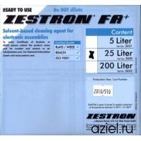 Промывочная жидкость для отмывки печатных узлов ZESTRON FA+ (бутылка 1 л.)