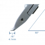Кусачки миниатюрные с головкой под углом 50° Tronex 5075